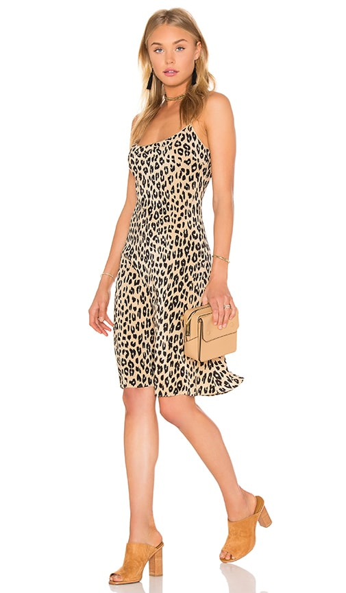 Kate Moss for Equipment Jessa Cheetah Print Slip Dress