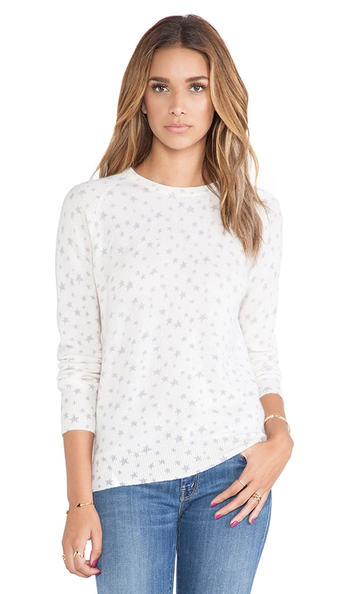 Sloane Star Spray Crewneck Sweater