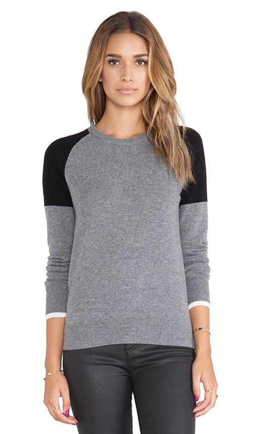 Sloane Colorblock Crewneck Sweater