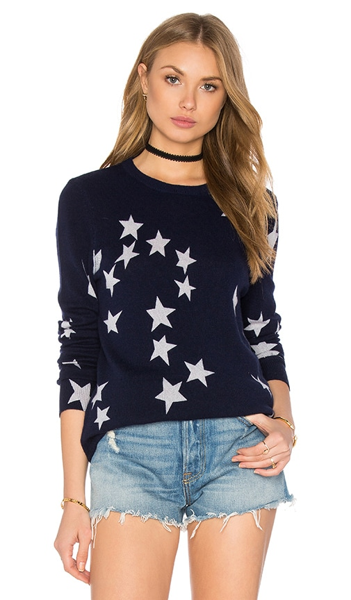 Rei Star Crew Neck Sweater