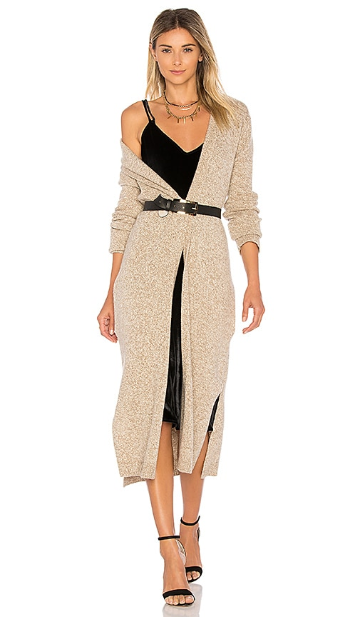 Equipment Thoren Cardigan in Taupe