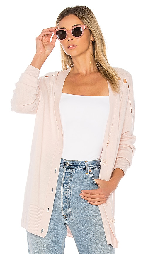 Equipment Gia Cardigan in Pink