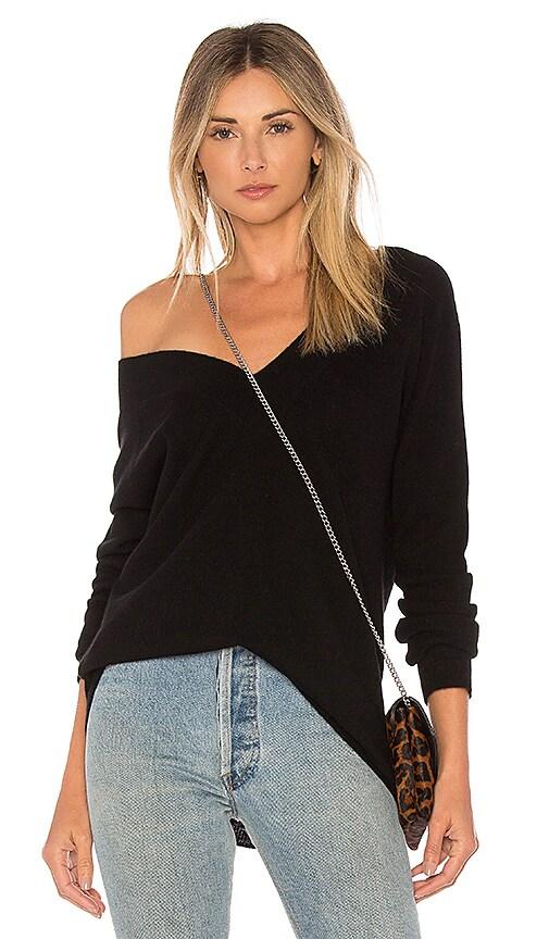 Equipment Linden Sweater in Black