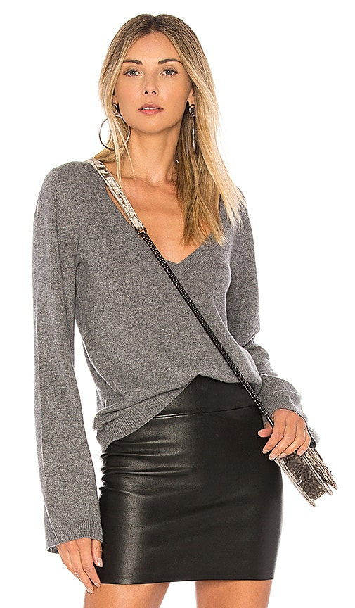 Equipment Baxley Sweater in Gray