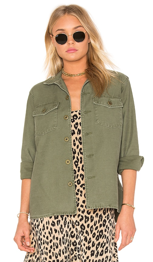 Kate Moss for Equipment Major Shirt Jacket