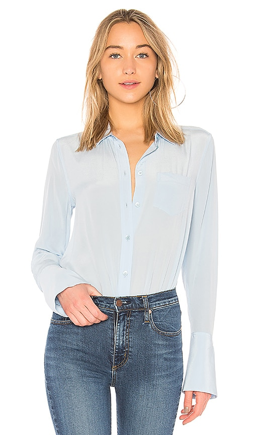 Equipment Huntley Top in Blue