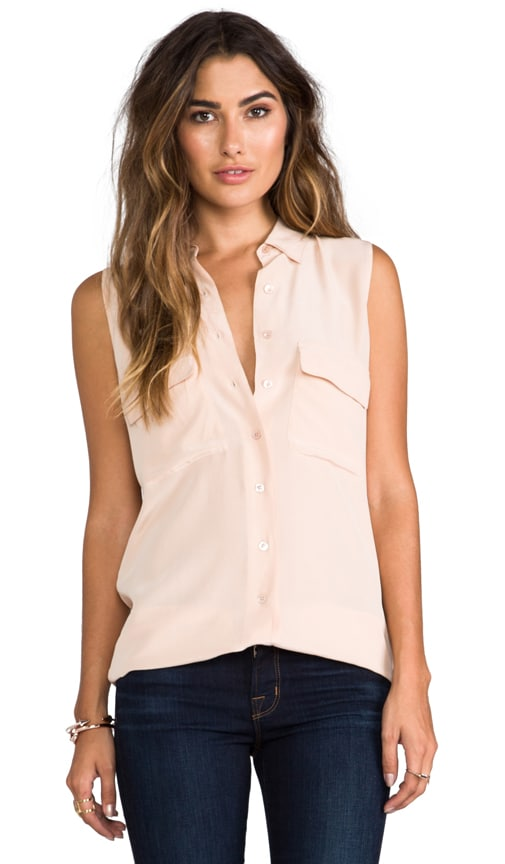 Sleeveless Signature Blouse