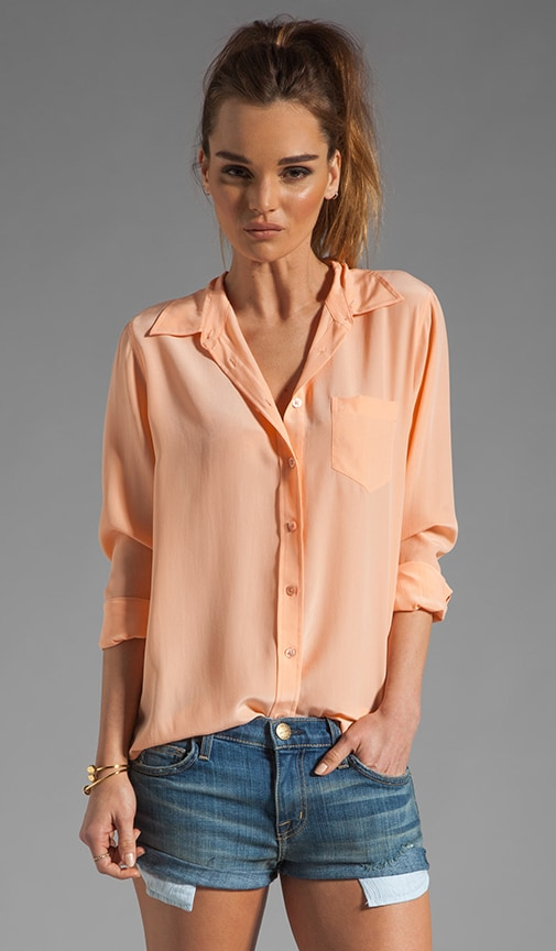 Brett Vintage Wash Blouse