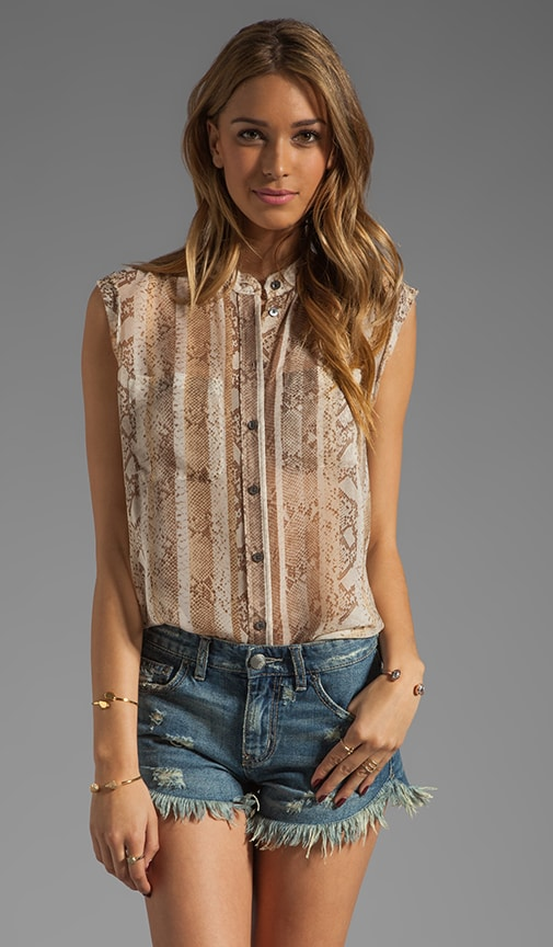Skylar Sleeveless Blouse