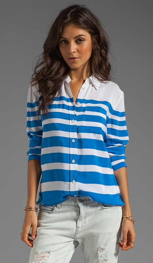 Lucky Stripe Reese Blouse