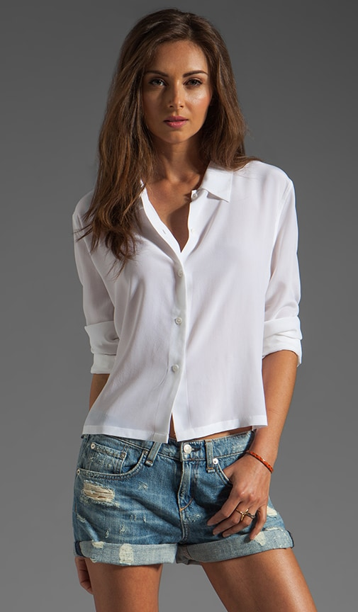 Leighton Cropped Blouse