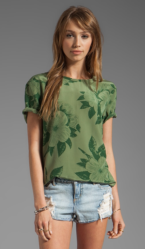 Tropical Floral Riley Tee