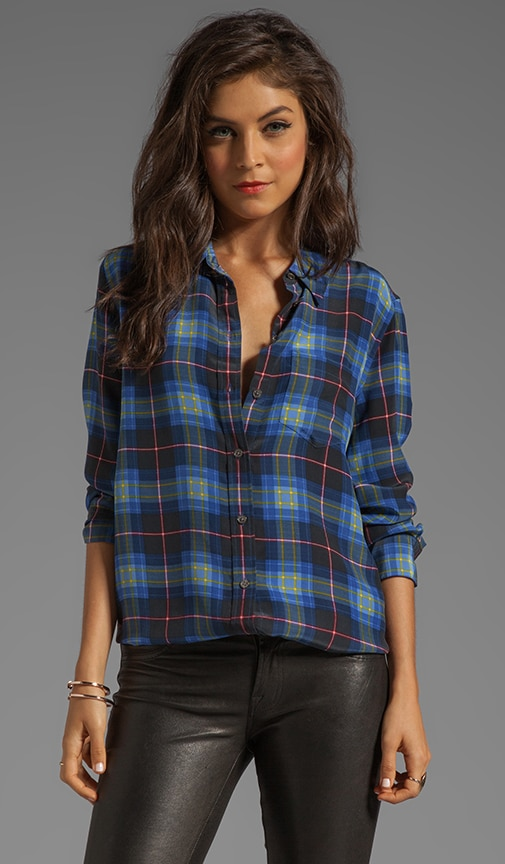 Punk Plaid Reese Blouse