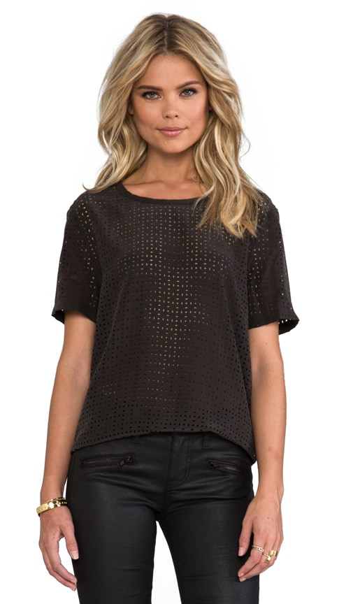 Riley Laser Cut Blouse