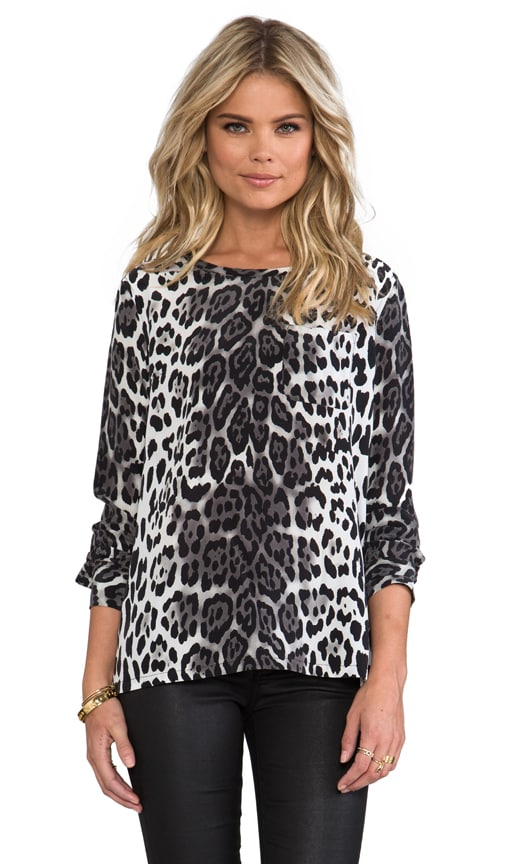 Liam Magic Leopard Pocket Blouse