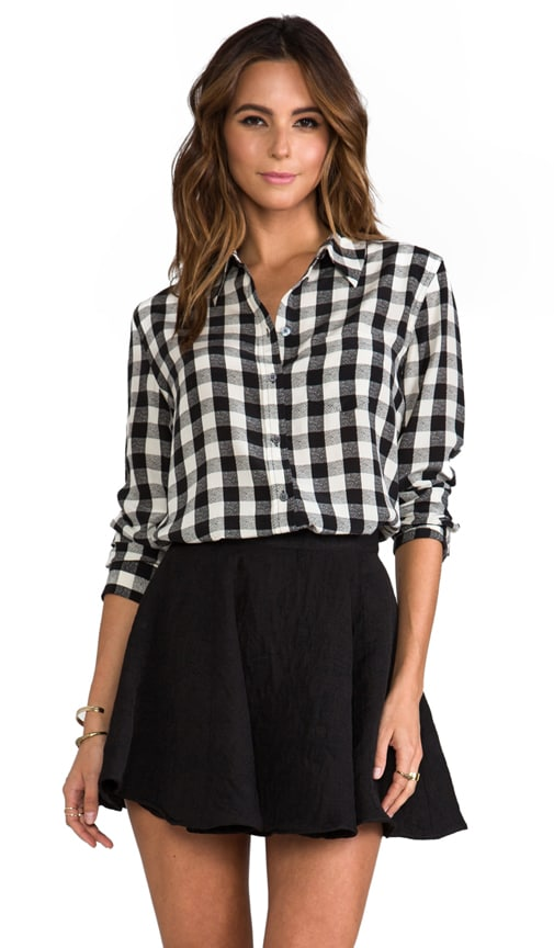 Reese Buffalo Check Blouse