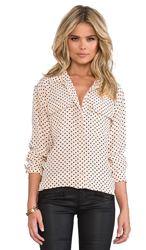 Signature Angelica Hearts Blouse