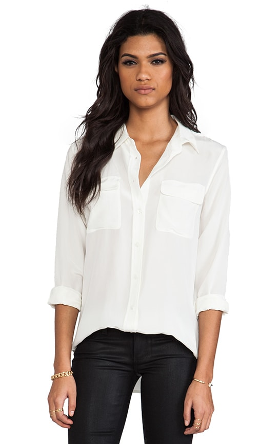 a084f7deaf6b7a Slim Signature Blouse. Slim Signature Blouse. Equipment