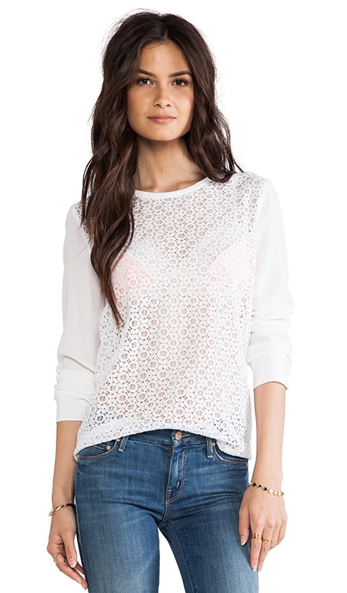 Liam Revival Lace Blouse