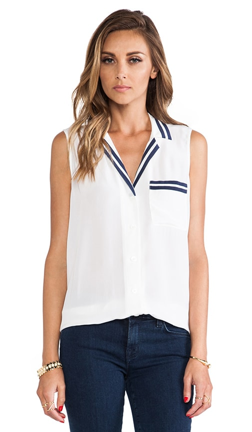 Sleeveless Keira Blouse