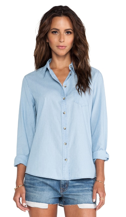 Brett Chambray Blouse