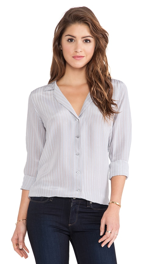 Adalyn Menswear Stripe Blouse