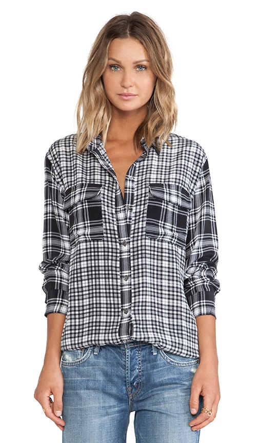 Signature Highway Plaid Blouse