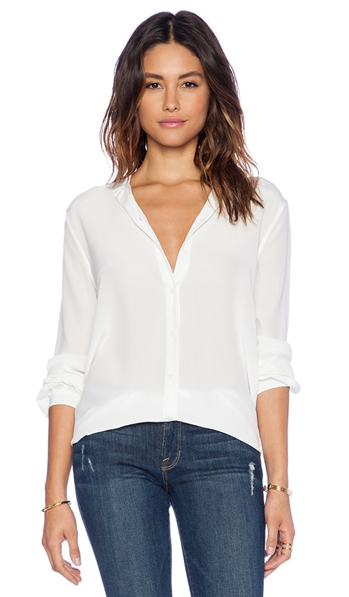 Equipment Women's Equipment Essential Layered Split Cuff Blouse, Size X-Small - White NORDSTROM $ Equipment Women's Equipment Slim Signature Silk Blouse, Size Large - White.