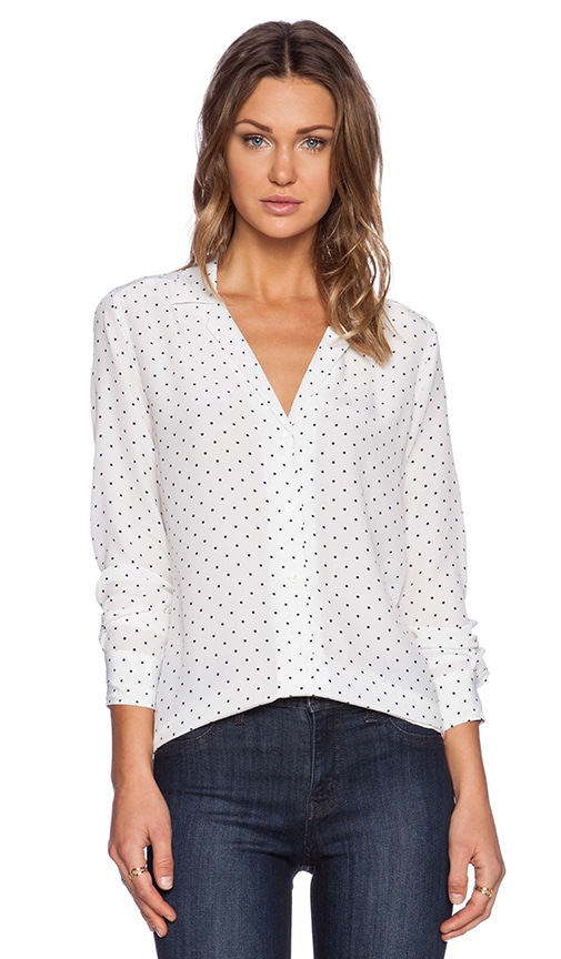 Adalyn Uniform Dot Blouse
