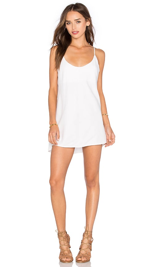 Equipment Prue Cami Dress in Bright White