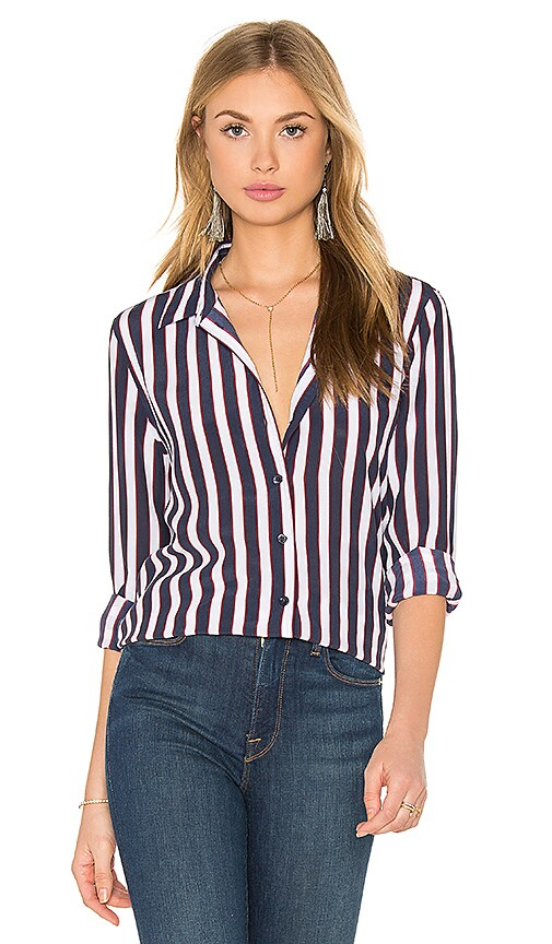 Leema Silk Button Up