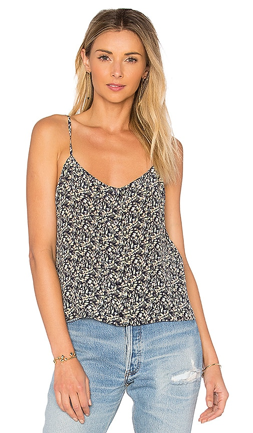 Equipment Perrin Floral Cami in Navy