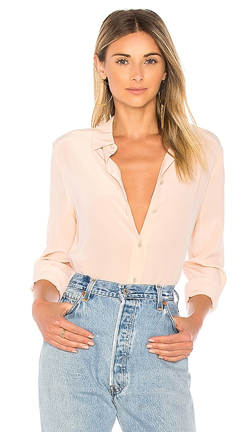 96c0252690 Equipment Essential Button Up in French Nude