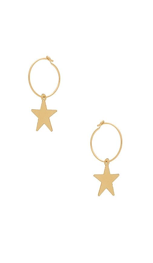 ERTH Star Sleeper Earring in Gold