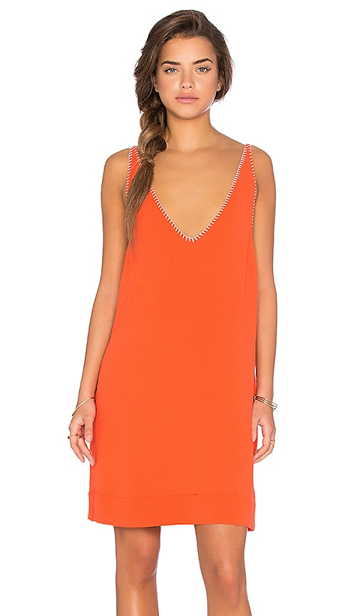Essentiel Antwerp Laraspa Dress in Orange