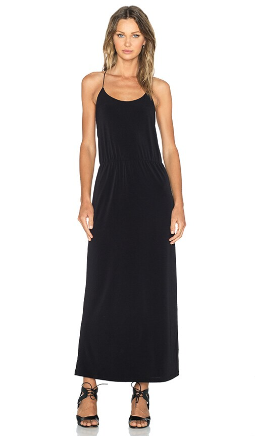 Essentiel Antwerp Antwerp Top Basic Maxi Dress in Black