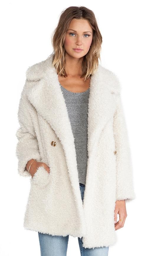 Haxara Maxi Faux Fur Coat