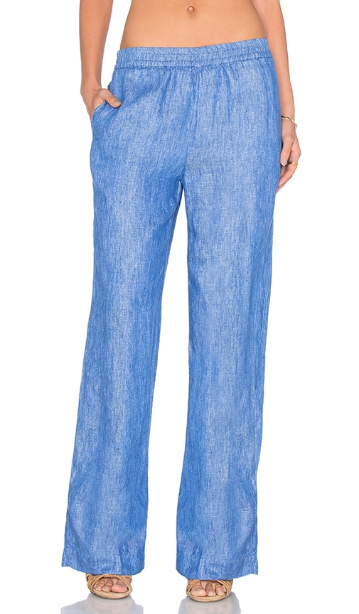 Essentiel Antwerp Laureen Wide Leg Pant in Blue