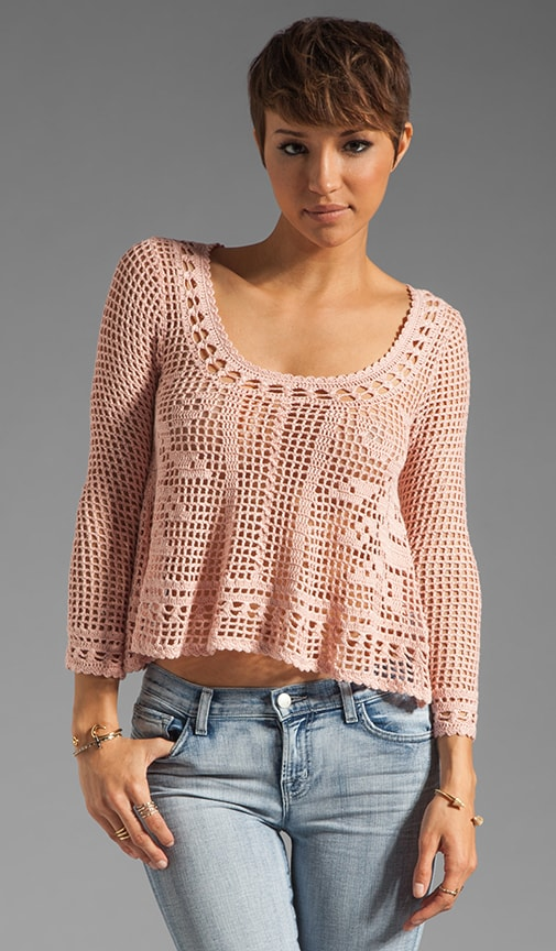 Rose Scarf Top