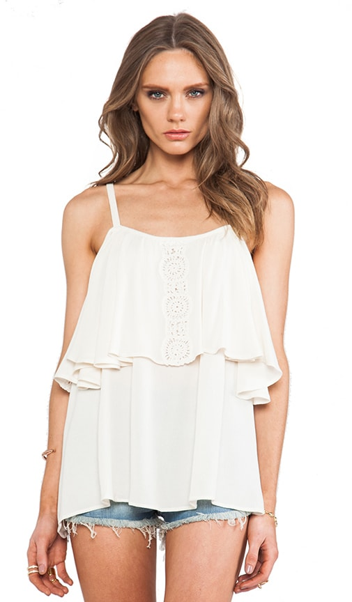 Sofia Open Shoulder Top