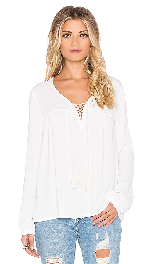 Eternal Sunshine Creations Sofia Blouse in White