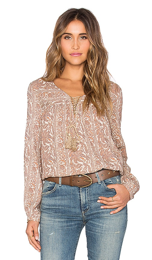 Sunset Meadow Blouse