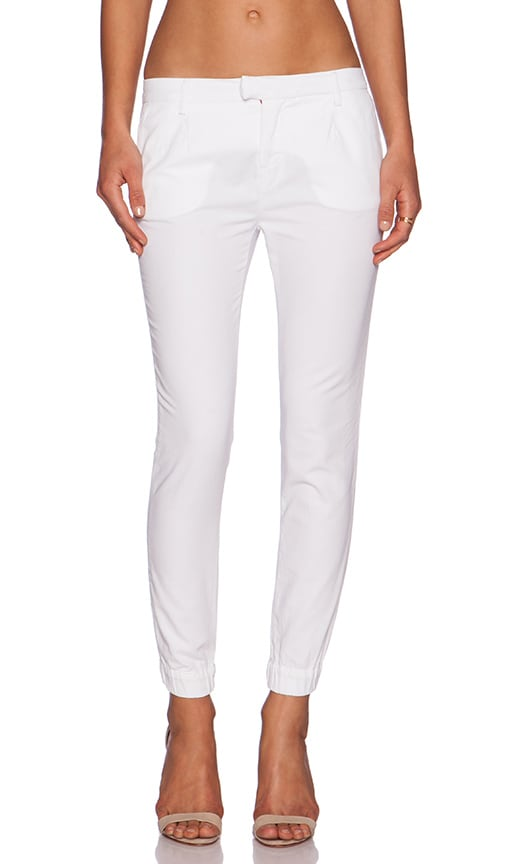 Etienne Marcel Cropped Jeans in White