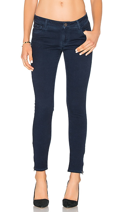 Etienne Marcel Zip Skinny in Navy