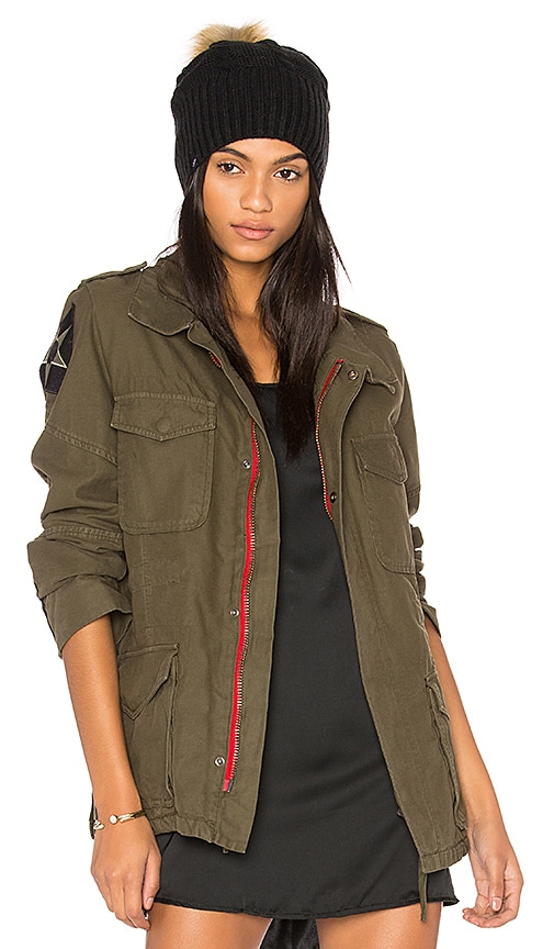 Etienne Marcel Military Jacket in Army