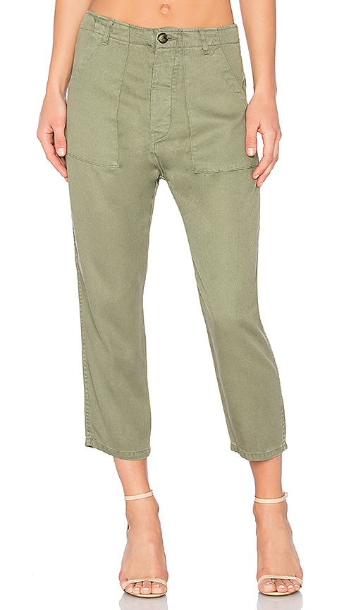 Etienne Marcel Cargo Pant in Olive