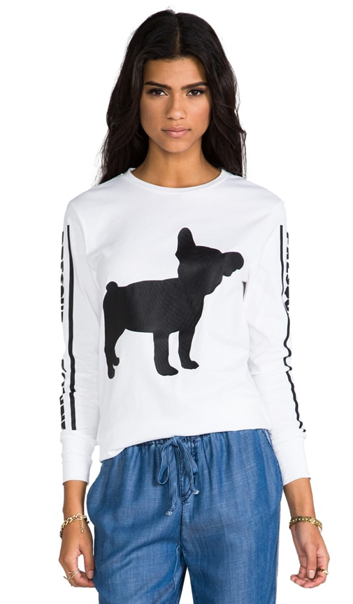 Big Frenchie Long Sleeve T-Shirt