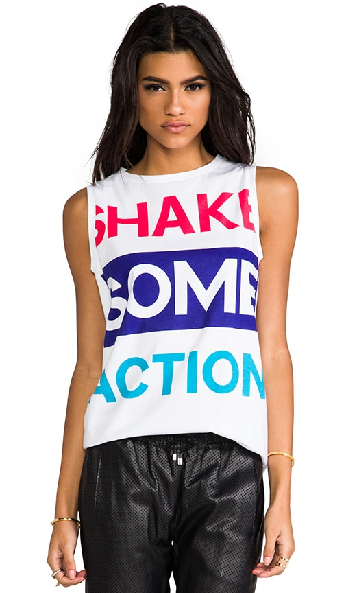 Shake Some Action Tank
