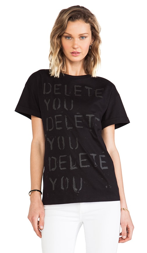 x Richie Culver Delete You Oversize T-Shirt