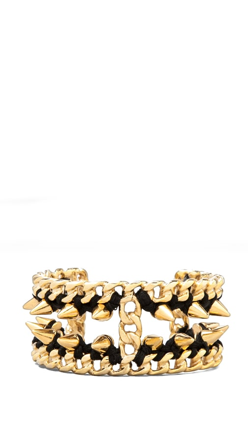 Gold Chain Cuff